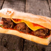 The ultimate meatball sub