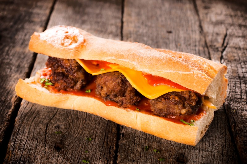 ultimate meatball sub